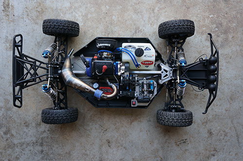 Losi 5ive T - Top View