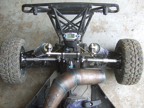 Losi 5ive T - Custom Upgrade - Custom HD aluminum camber link and turnbuckles