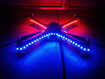 DJI F450 Flame Wheel Multirotor -  LED Lights