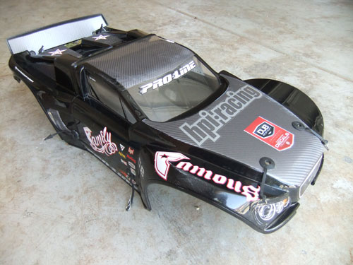 HPI Baja 5B SS - 5T Conversion - Proline Desert Rat body