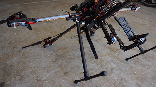 Tarot 680Pro Hexacopter TL65B44 Small-type Mini Electric Retractable Landing