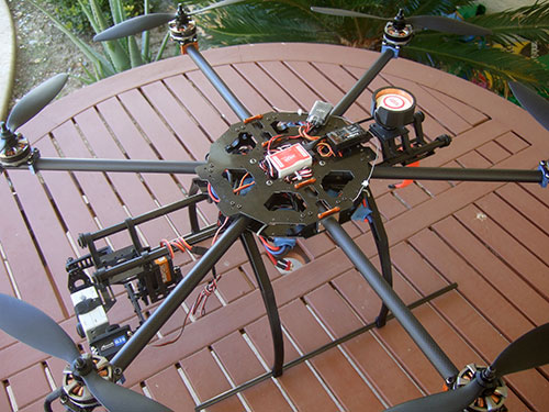 Tarot FY680 3K Pure Carbon Fiber Full Folding Hexacopter 680mm