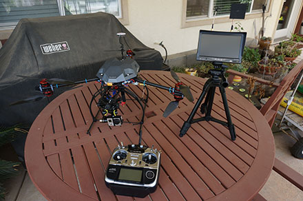 Tarot FY680 3K Pure Carbon Fiber Full Folding Hexacopter 680mm Converted to a Y6 - FPV Setup V3