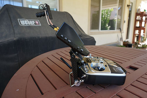 Tarot FY680 3K Hexacopter 680mm Converted to a Y6 with FPV and Custom Monitor Mount