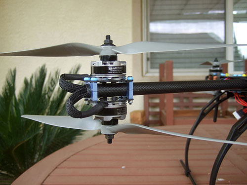 Tarot FY680 3K Pure Carbon Fiber Full Folding Hexacopter 680mm Converted to a Y6