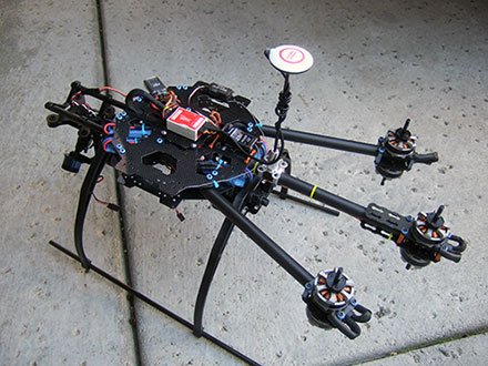 Tarot FY680 3K Pure Carbon Fiber Full Folding Hexacopter 680mm Converted to a Y6 Version 2