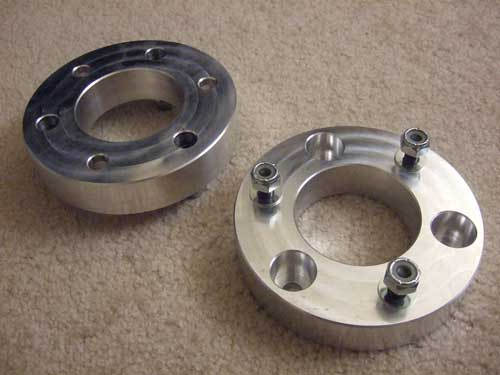 "Nissan Titan 2"" Leveling Kit: Leveling kit spacers from NCD"