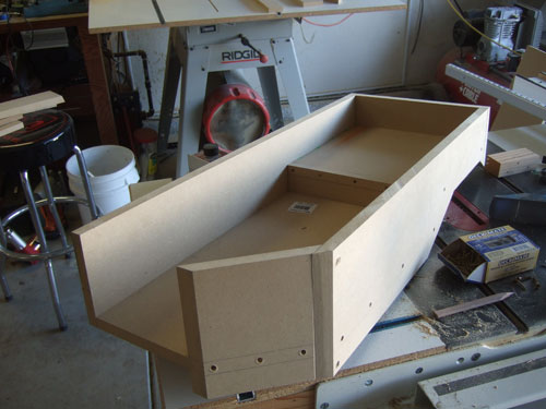 Custom subwoofer enclosure - fouth step