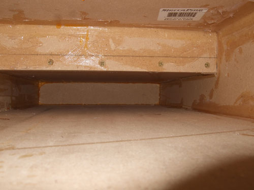 Custom subwoofer enclosure - from the inside