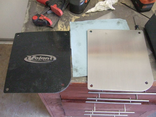 Volant cool air intake -  custom cover