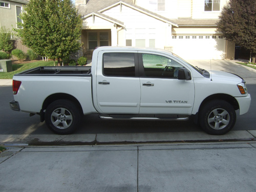 Nissan Titan Stock Tires and Wheels