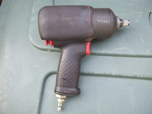 Ingersoll Rand .425 Inch Titanium Air Impact Wrench
