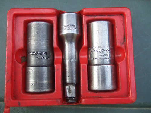 Snap On Set, Socket, Double Ended Lug Nut, 3 pcs.